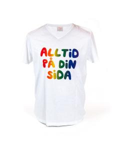 T-shirt Pride, Alltid på din sida
